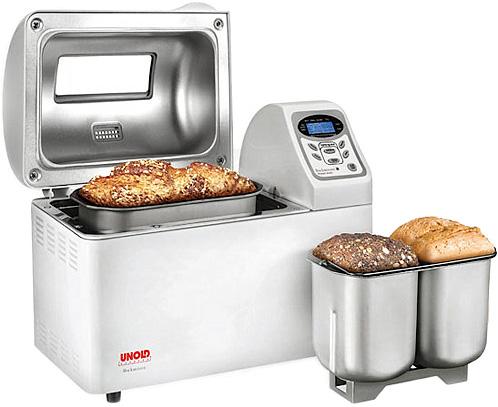 aparate de pâine cu cuvă dublă, preparând două pâini concomitent