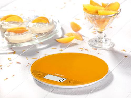 Cantar de bucatarie digital portocaliu