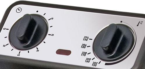 friteuza cu temporizator timer cronometru si termostat