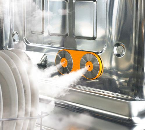 masina de spalat vase cu aburi