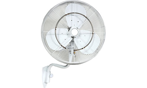 ventilator cu pulverizare apa de perete