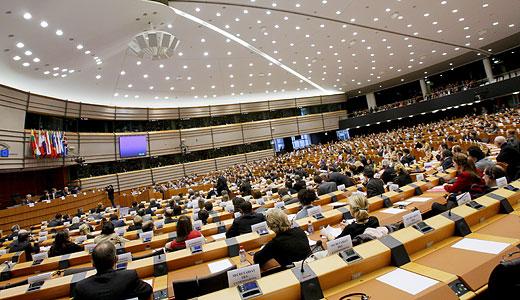 Interiorul Parlamentului European