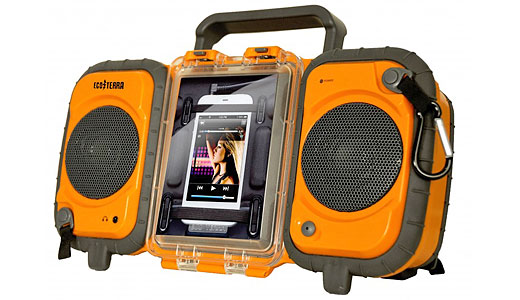 Eco Terra iPhone Boombox