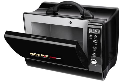 WaveBox, cuptor cu microunde portabil