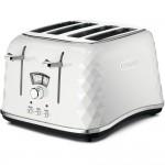 toaster prăjitor pâine alb