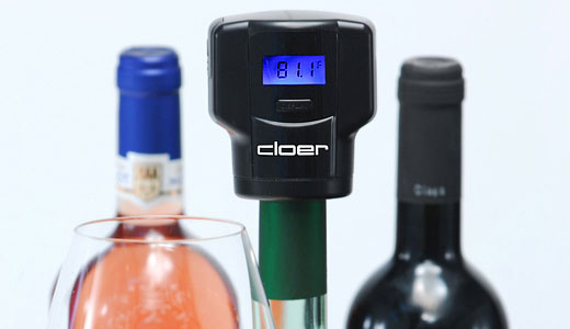 dop sticle vin termometru pompa vid