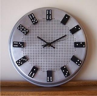 ceas perete artizanal metalic