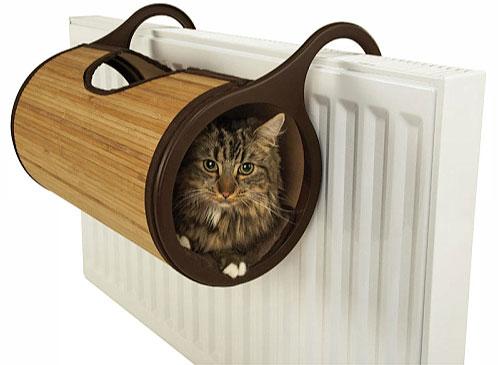 pat pisici suspendat calorifer