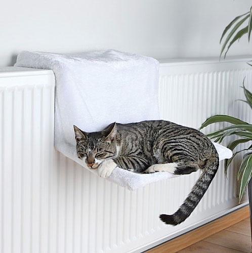 pat pisica suspendat calorifer