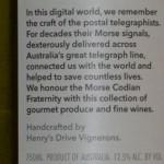 Sticla vin telegrafie cod Morse