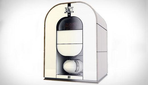 Automat cafea cu prajirea boabelor