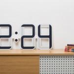 ClockONE, ceas de perete cu afisaj e-ink