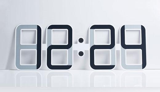 ceas de perete afisaj e-ink