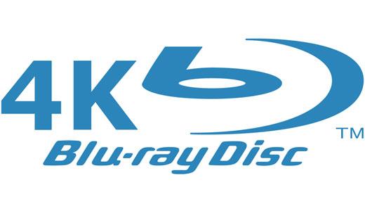 logo 4K Blu-ray sigla