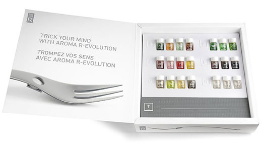 Set ustensile bucatarie parfumate Aroma R-Evolution