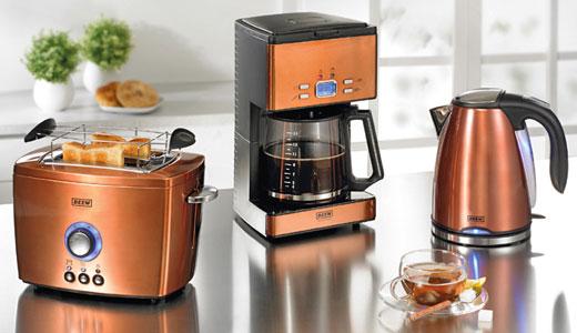 Set mic dejun toaster, filtru cafea, cana electrica