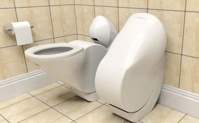 Vas WC rabatabil