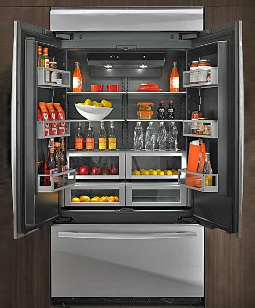 Jenn air obsidian combine frigorifice cu interior negru for Jenn air obsidian refrigerator