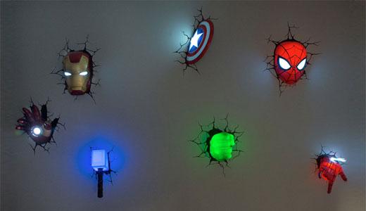 lumina de veghe supereroi
