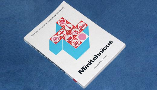 Coperta cartii Minitehnicus din 1974