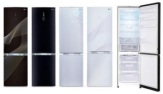 Combinele frigorifice LG Iskra