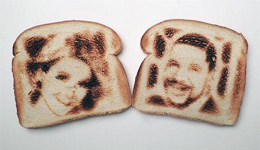 Toaster prajitor paine imprimare poze selfie