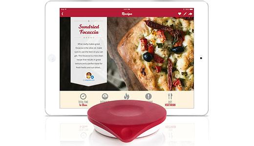 Cântar de bucătărie inteligent cu iPad