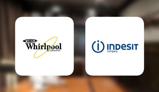 Logo sigla Whirlpool Indesit