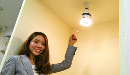 Becul LED cu ioni negativi neutralizează mirosurile