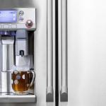 Combina frigorifica cu dozator de cafea