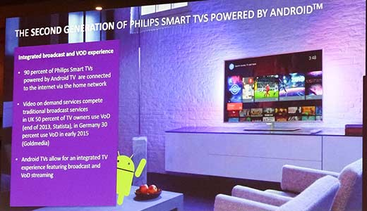 Philips smart-tv sistem de operare Android
