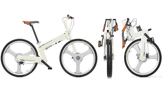 Bicicleta pliabilă if mode