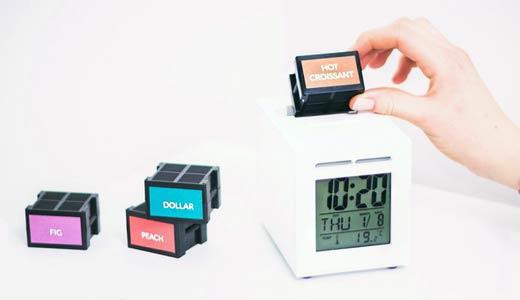 Ceas deșteptător cu alarmă olfactivă, mirositoare