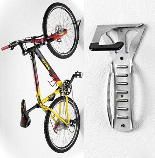 Suport pentru agatarea bicicletei pe perete