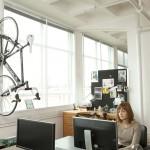 suport pliabil agatare bicicleta pe perete