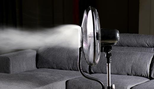 ventilator pulverizare apa