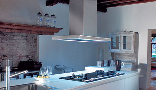 Hotele de bucatarie silentioase Falmec Lumina NRS