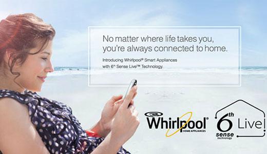 Electrocasnice Whirlpool controlate prin Internet