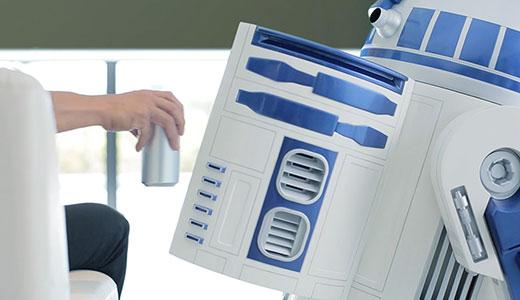 Frigider mobil cu telecomandă R2-D2